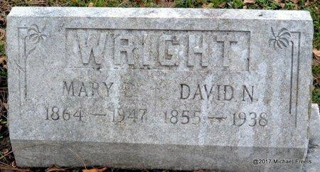 WRIGHT, DAVID N. - Jasper County, Missouri | DAVID N. WRIGHT - Missouri Gravestone Photos