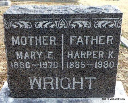 WRIGHT, HARPER K. - Jasper County, Missouri | HARPER K. WRIGHT - Missouri Gravestone Photos