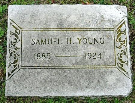 YOUNG, SAMUEL H. - Jasper County, Missouri   SAMUEL H. YOUNG - Missouri Gravestone Photos