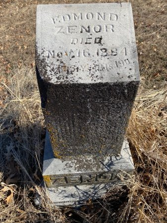 ZENOR, EDMOND - Jasper County, Missouri   EDMOND ZENOR - Missouri Gravestone Photos