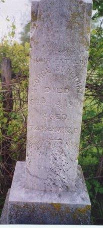 BURKHART, GEORGE - Knox County, Missouri   GEORGE BURKHART - Missouri Gravestone Photos