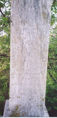 KENNEDY BURKHART, SARAH ELLEN - Knox County, Missouri | SARAH ELLEN KENNEDY BURKHART - Missouri Gravestone Photos