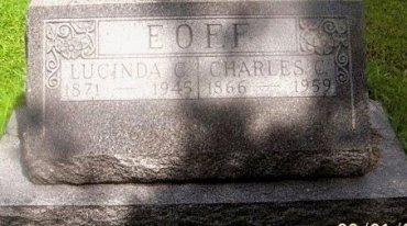PARRISH EOFF, LUCINDA CHARLOTTE - Knox County, Missouri | LUCINDA CHARLOTTE PARRISH EOFF - Missouri Gravestone Photos