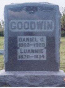 JETT GOODWIN, LUANNIE - Knox County, Missouri | LUANNIE JETT GOODWIN - Missouri Gravestone Photos