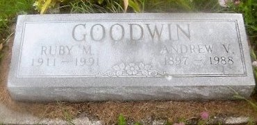 GOODWIN, ANDREW VINCENT - Knox County, Missouri | ANDREW VINCENT GOODWIN - Missouri Gravestone Photos