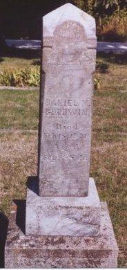 GOODWIN, DANIEL M. - Knox County, Missouri | DANIEL M. GOODWIN - Missouri Gravestone Photos
