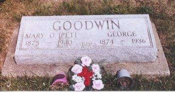 WALTER GOODWIN, MARY OLIVIA - Knox County, Missouri | MARY OLIVIA WALTER GOODWIN - Missouri Gravestone Photos