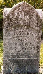 GOODWIN, WILLIAM L - Knox County, Missouri | WILLIAM L GOODWIN - Missouri Gravestone Photos