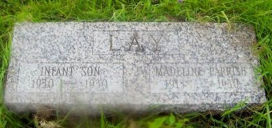 LAY, EDWILDA MADELINE - Knox County, Missouri | EDWILDA MADELINE LAY - Missouri Gravestone Photos