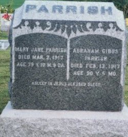 PARRISH, MARY JANE - Knox County, Missouri | MARY JANE PARRISH - Missouri Gravestone Photos