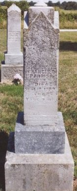 PARRISH, FRANCES DAVIS - Knox County, Missouri | FRANCES DAVIS PARRISH - Missouri Gravestone Photos