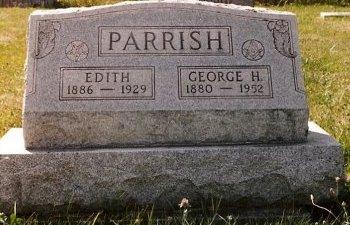 PARRISH, GEORGE HENRY - Knox County, Missouri | GEORGE HENRY PARRISH - Missouri Gravestone Photos