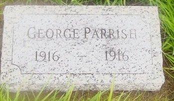 PARRISH, GEORGE ROBERT - Knox County, Missouri   GEORGE ROBERT PARRISH - Missouri Gravestone Photos
