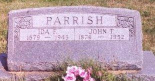 PARRISH, IDA FRANCES - Knox County, Missouri | IDA FRANCES PARRISH - Missouri Gravestone Photos