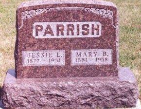 PARRISH, JESSIE LORANZO - Knox County, Missouri | JESSIE LORANZO PARRISH - Missouri Gravestone Photos