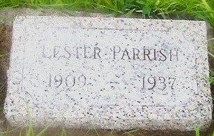 PARRISH, LESTER THOMAS - Knox County, Missouri   LESTER THOMAS PARRISH - Missouri Gravestone Photos