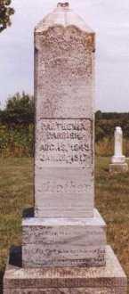 PARRISH PARRISH, PARTHEMA ION - Knox County, Missouri   PARTHEMA ION PARRISH PARRISH - Missouri Gravestone Photos