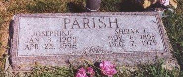PARRISH, JOSEPHINE - Knox County, Missouri   JOSEPHINE PARRISH - Missouri Gravestone Photos