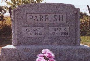 COUCHMAN PARRISH, INEZ KATHERINE - Knox County, Missouri | INEZ KATHERINE COUCHMAN PARRISH - Missouri Gravestone Photos
