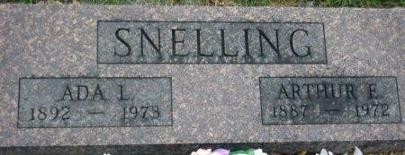 SNELLING, ARTHUR E - Knox County, Missouri | ARTHUR E SNELLING - Missouri Gravestone Photos