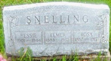 SNELLING, BESSIE - Knox County, Missouri | BESSIE SNELLING - Missouri Gravestone Photos