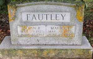 PETERS FAUTLEY, MALICCY - Laclede County, Missouri | MALICCY PETERS FAUTLEY - Missouri Gravestone Photos