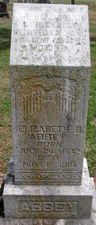 ABBEY, ELIZABETH B - Lawrence County, Missouri   ELIZABETH B ABBEY - Missouri Gravestone Photos