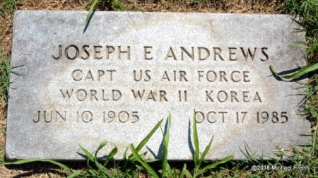 ANDREWS, JOSEPH E. (VETERAN 2 WARS) - Lawrence County, Missouri | JOSEPH E. (VETERAN 2 WARS) ANDREWS - Missouri Gravestone Photos