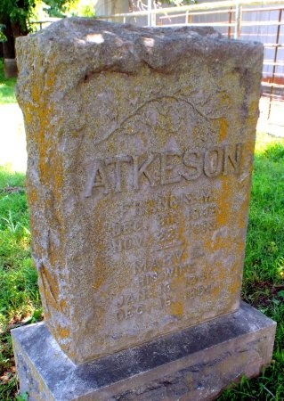 ATKERSON, FRANCIS M  - Lawrence County, Missouri | FRANCIS M  ATKERSON - Missouri Gravestone Photos