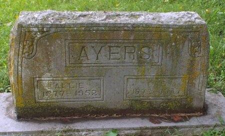AYERS, DEE - Lawrence County, Missouri | DEE AYERS - Missouri Gravestone Photos