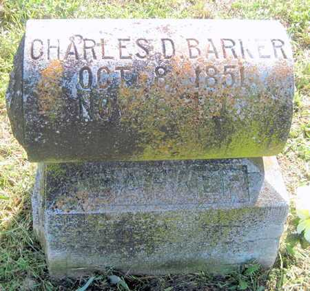BARKER, CHARLES DUDLEY - Lawrence County, Missouri   CHARLES DUDLEY BARKER - Missouri Gravestone Photos