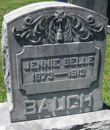BAUGH, JENNIE BELLE - Lawrence County, Missouri | JENNIE BELLE BAUGH - Missouri Gravestone Photos