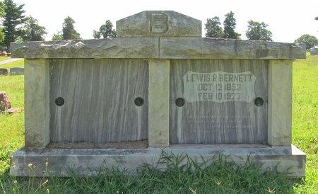 BERNETT, LEWIS R - Lawrence County, Missouri | LEWIS R BERNETT - Missouri Gravestone Photos
