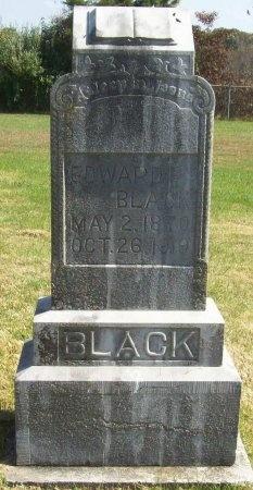 BLACK, EDWARD - Lawrence County, Missouri | EDWARD BLACK - Missouri Gravestone Photos