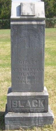 BLACK, GIRLEY - Lawrence County, Missouri   GIRLEY BLACK - Missouri Gravestone Photos