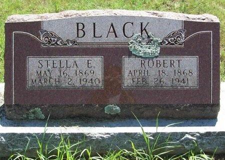 BLACK, STELLA E - Lawrence County, Missouri   STELLA E BLACK - Missouri Gravestone Photos