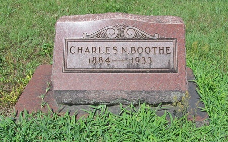 BOOTHE, CHARLES N - Lawrence County, Missouri | CHARLES N BOOTHE - Missouri Gravestone Photos