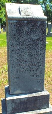 BOUCHER, ALMARINDA S - Lawrence County, Missouri | ALMARINDA S BOUCHER - Missouri Gravestone Photos