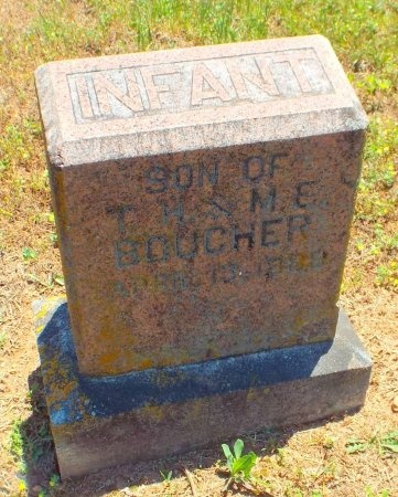 BOUCHER, INFANT SON - Lawrence County, Missouri | INFANT SON BOUCHER - Missouri Gravestone Photos