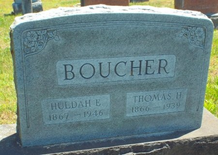 CAGLE BOUCHER, MAHULDA E - Lawrence County, Missouri | MAHULDA E CAGLE BOUCHER - Missouri Gravestone Photos