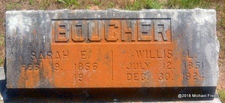 BOUCHER, SARAH E. - Lawrence County, Missouri | SARAH E. BOUCHER - Missouri Gravestone Photos