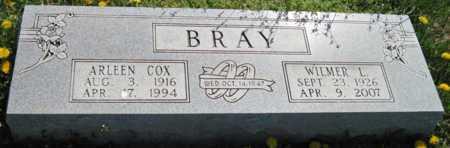 BRAY, WILMER LOREN - Lawrence County, Missouri | WILMER LOREN BRAY - Missouri Gravestone Photos