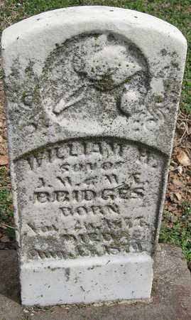 BRIDGES, WILLIAM M - Lawrence County, Missouri   WILLIAM M BRIDGES - Missouri Gravestone Photos