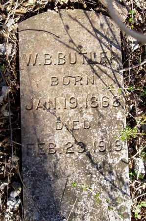 BUTLER, W. B. - Lawrence County, Missouri | W. B. BUTLER - Missouri Gravestone Photos