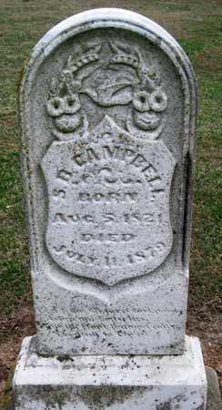 CAMPBELL, S B - Lawrence County, Missouri | S B CAMPBELL - Missouri Gravestone Photos