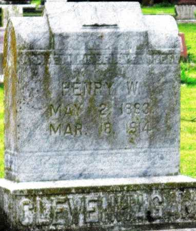 CLEVENHAGAN, HENRY W - Lawrence County, Missouri | HENRY W CLEVENHAGAN - Missouri Gravestone Photos