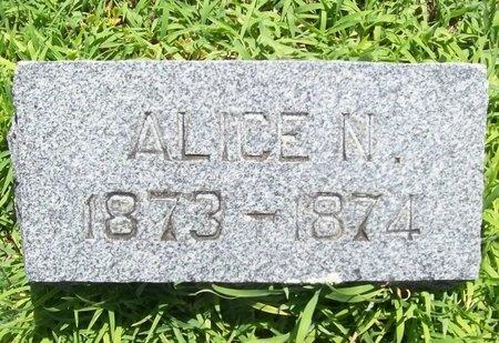 CLOUD, ALICE NORA - Lawrence County, Missouri | ALICE NORA CLOUD - Missouri Gravestone Photos