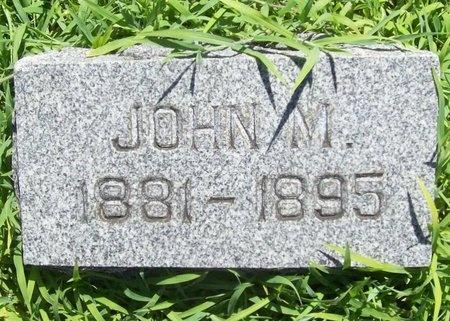CLOUD, JOHN M. - Lawrence County, Missouri | JOHN M. CLOUD - Missouri Gravestone Photos