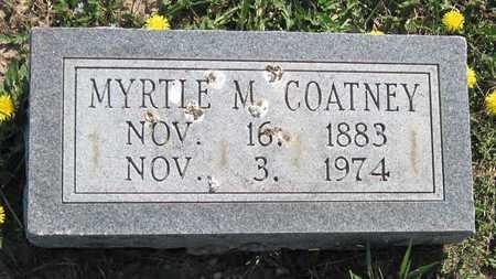 COATNEY, MYRTLE M - Lawrence County, Missouri   MYRTLE M COATNEY - Missouri Gravestone Photos