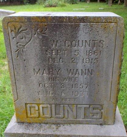 COUNTS, ISAAC WOOLARD  - Lawrence County, Missouri | ISAAC WOOLARD  COUNTS - Missouri Gravestone Photos